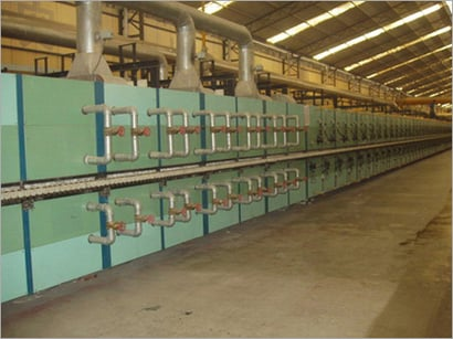 Cooling System For Ceramic Machinery