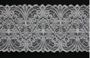 Nylon Stretch Raschel Decorative Laces