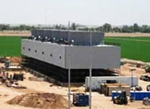 FRP Induced Draft Counterflow Cooling Towers