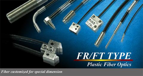 Plastic Fiber Sensor - FR/FT Type