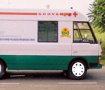 Bus Body Design Type Mobile Hospitals