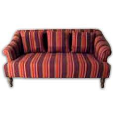 Sofa With Stripe Fabric Cover in  Durgapura