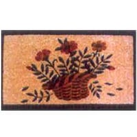 Stenciled Low Pile Creel Mats