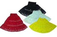 Cotton Embroidered Skirts