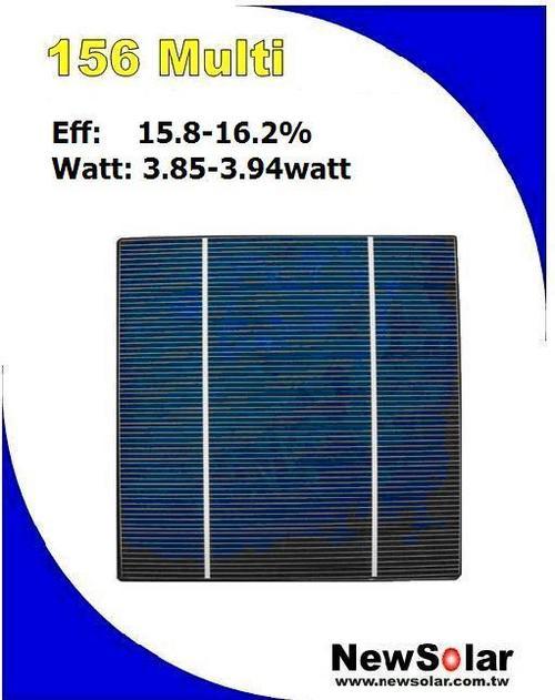 Multicrystalline Solar Cells( Photovoltaic Cell)