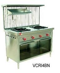 Two Burner Cooking Station in   Industrial Area