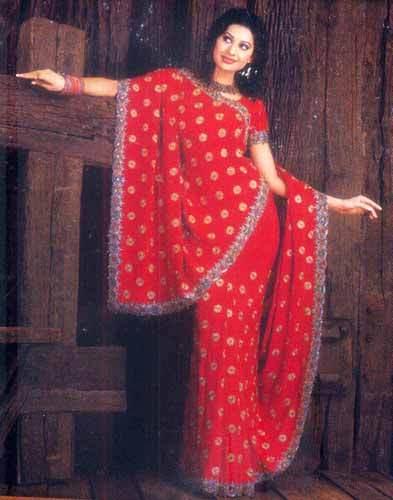 Ladies Bridal Sarees in  Chandni Chowk