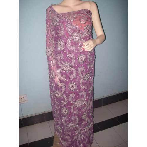 Embroidered Georgette Sarees