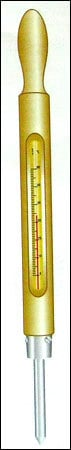 Brass Cone Soil Thermometer