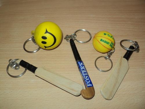 Hockey, Stuff Ball, Base Ball Key Chains