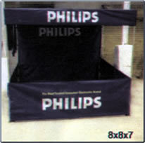 Promotional Demo Tents