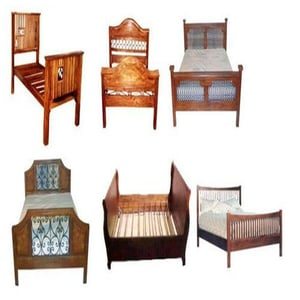 Wooden Crafted Beds