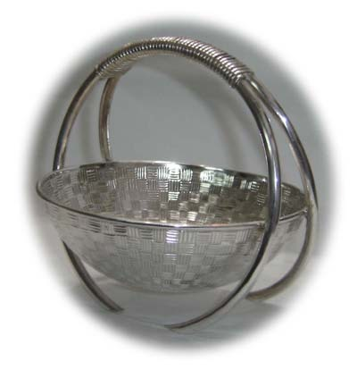 Crafted Silver Baskets