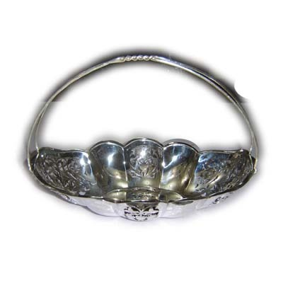 Designer Silver Fruit Baskets