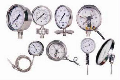 Pressure And Temperature Gauges