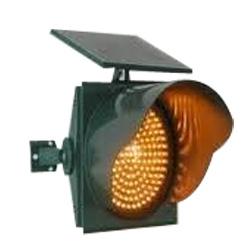 Solar Powered Road Traffic Warning Blinkers