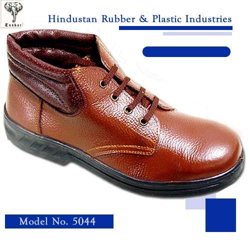 Brown Color Safety Shoes