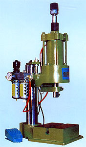 Pneumatically & Electrically Operated Press