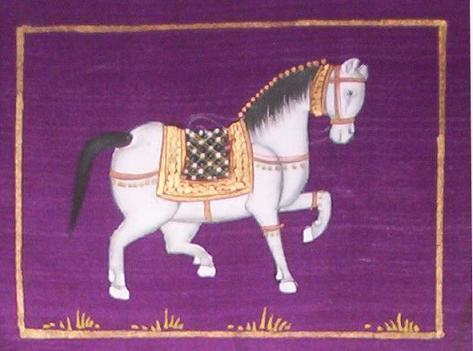 Horse Paintings On Silk