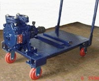 Vertically Split Suction Trolley Mounted Pumps