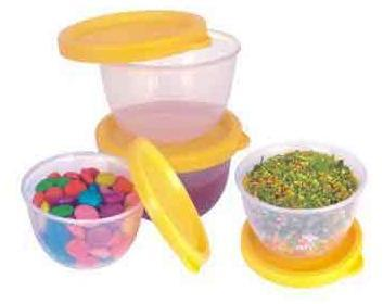 Air Tight Leak Proof Plastic Containers