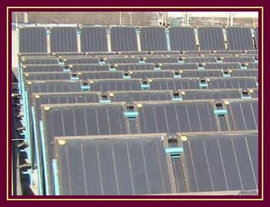 Jiuyang Solar Water Heater With All Copper Core