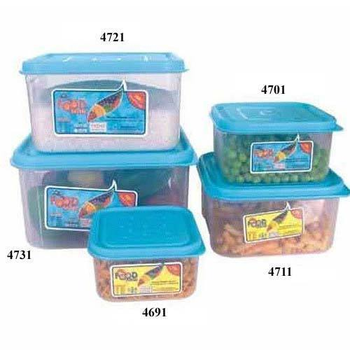 Square Food Saver Microwave Safe Containers
