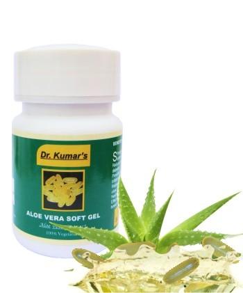 Herbal Aloe Vera Soft Gels