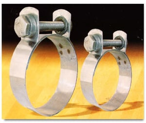 Stainless Steel Wide Band Clamps