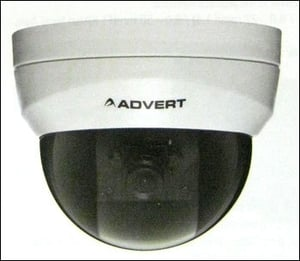 3 Axis Fixed Focal Indoor Dome Camera