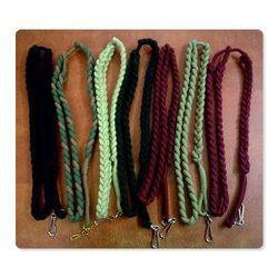 Corded & Plaited Lanyard