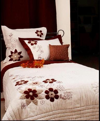 Floral Embroidery Bedding Sets