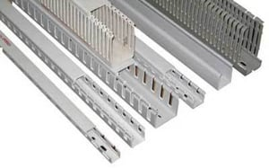 PVC Channel Profiles for Wire Ducts