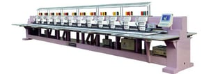 Sequins Mixed Embroidery Machine