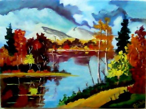 acrylic on canvas nature paintings dekora art gallery a 1 7