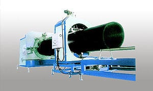 HDPE Heavy-caliber Hollow Twines Tube Production Line