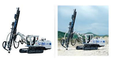 Electronically Controlled Crawler Drill