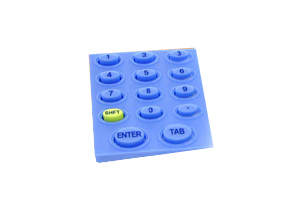 Moulded Silicone Rubber Keypads