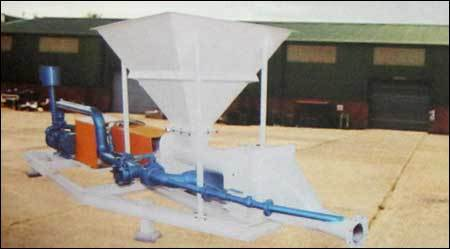 Cement/Flyash Feeding Pump
