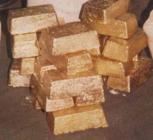 Gold Dore Bars in Accra, Greater Accra - Village of Gold Prospecting
