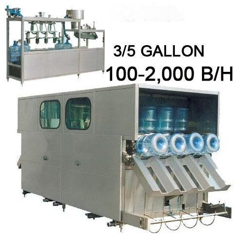 Full Automatic Barreled Water Filling Machine