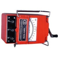 Earth Tester (Hand Driven Generator Type)