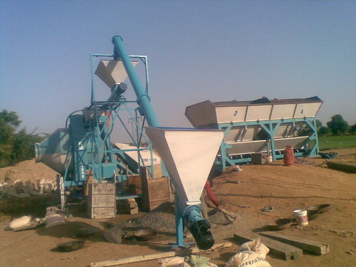 Concrete Batching Plant in   HIghway Road