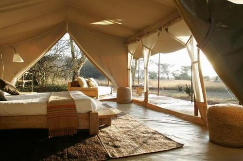 Durable Jungle Safari Tents