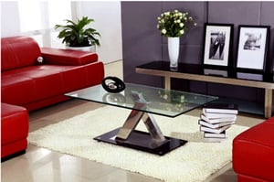 High Quality Tempered Glass Coffee Table