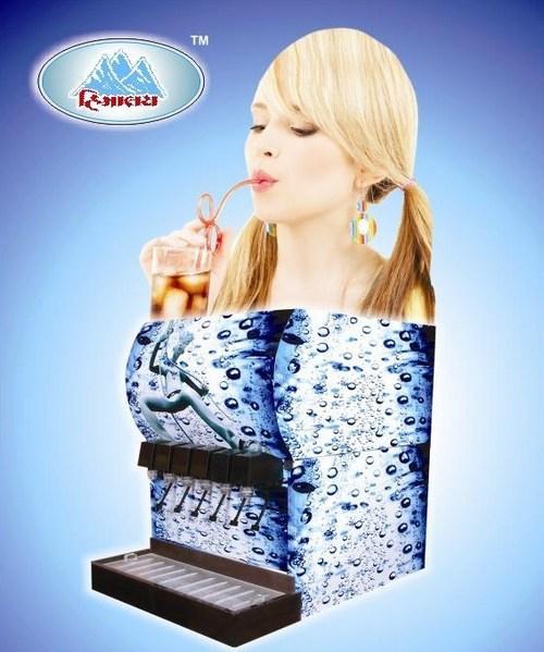 6 Valve Soda Dispenser