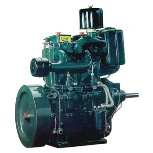 Single And Double Cylinder Water-Cooled Engines