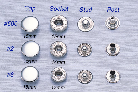 Spring Snap Buttons