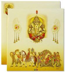 Hindu wedding invitation cards in indore madhya pradesh regal hindu wedding invitation cards in new palasia stopboris Choice Image
