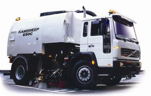 Chassis Mounted Self Contained Vacuum Sweepers